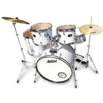 Ashton JoeyDrum Drum Kit - White