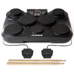 Alesis CompactKit 7 Electronic Tabletop Drum Kit with 7 Pads and 2 Pedals