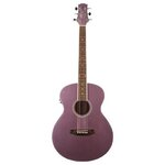 Ashton SL20EQ LS Slimline Acoustic Electric Guitar in Lavender Sparkle Finish