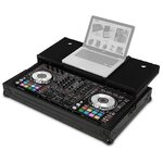 UDG U91011BL Ultimate Flight Case Pioneer DDJ-RX/SX/SX2/SX3 Black MK2 Plus (Laptop Shelf)