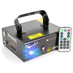 Beamz ANTHE-II Dual RGB 600mW Laser with DMX and Remote Control