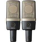 AKG C314-ST Multi Pattern Condenser Microphones - Matched Pair