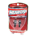 Hearos Rock 'n Roll High Quality Reusable Musicians Ear Plugs
