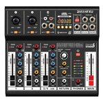 Italian Stage 2MIX4FXU 4 Channel Stereo Audio Mixer with DSP MultiFX