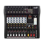 Italian Stage 2MIX8PRO 8-Channel Professional Stereo Mixer with DSP MultiFX