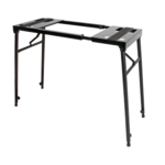 XTreme KS141 Heavy Duty Bench Style Stand for Keyboards, DJ Turntables, Mixers and more