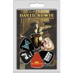 Perris 6-Pack David Bowie Licensed Guitar Pick Packs