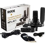 Rode Complete Studio Kit with NT1 Microphone and AI-1 Interface Plus More