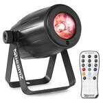 Beamz PS12W MK2 12 Watt RGBW LED Pinspot with Remote Control