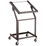 "CPK R106 19"" Mixer and Equipment Rack on Wheels - 21 Rack Space"