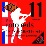 Rotosound R11 Roto Reds Electric Guitar String Set Medium 11-48